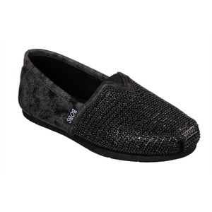 Skechers LUXE BOBS - BIG DREAMER in Black